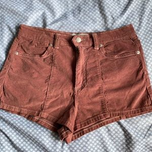 Free People Soft Corduroy Shorts